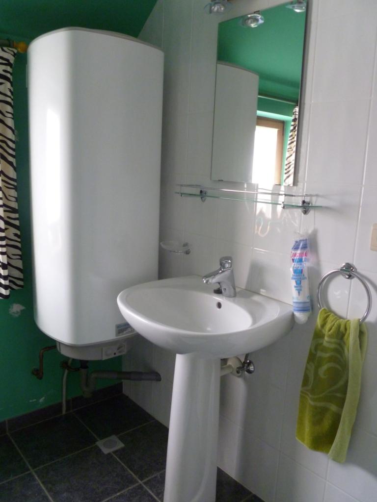 Badkamer boiler