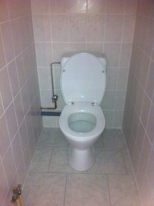 Staand toilet Villeroy Boch Kessel